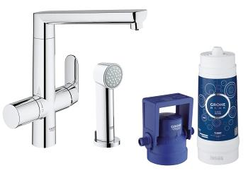 grohe grohe blue k7 pure starter kit 31354 001 grohe blue pure k chenarmatur mit. Black Bedroom Furniture Sets. Home Design Ideas