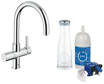grohe grohe blue pure starter kit 31312 000 grohe. Black Bedroom Furniture Sets. Home Design Ideas