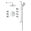 Eurosmart Timeless thermostatic custom shower kit 19865