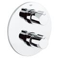 Tenso Thermostat with integrated 2-way diverter  for bath or shower with more than one outlet 19403 000