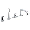 Atrio 4-hole bath/shower combination 19141 000