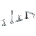 Atrio 4-hole bath/shower combination 19142 000