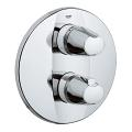Grohtherm 3000 Thermostat with integrated 2-way diverter for bath or shower with more than one outlet 19358 000