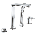 Veris Four-Hole Bathtub Faucet with Handshower 19374 000