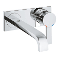 Allure Two-Hole Wall Mount Bathroom Faucet M-Size 19387 00A