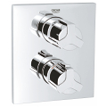 Allure Thermostat with integrated 2-way diverter  for bath or shower with more than one outlet 19446 000