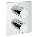 Grohtherm 3000 Cosmopolitan Thermostat with integrated 2-way diverter  for bath or shower with more than one outlet 19567 000