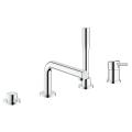 Concetto 4-hole single lever bath combination 19576 001
