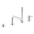 Concetto Four-hole single-lever bath combination 19576 002