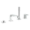 Quadra 4-hole single-lever bath combination 19579 000