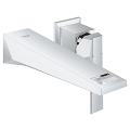 Allure Brilliant Two-Hole Wall Mount Bathroom Faucet M-Size 19784 00A