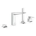 Allure Brilliant Four-Hole Bathtub Faucet with Handshower 19787 001