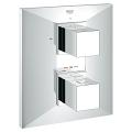 Allure Brilliant Thermostat with integrated 2-way diverter for bath or shower with more than one outlet 19792 000
