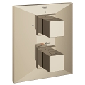 Allure Brilliant Thermostat with integrated 2-way diverter for bath or shower with more than one outlet 19792 BE0