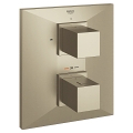 Allure Brilliant Thermostat with integrated 2-way diverter for bath or shower with more than one outlet 19792 EN0