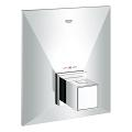 Allure Brilliant Façade pour mitigeur thermostatique central 19887 000