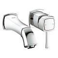 Grandera Two-hole basin mixer S-Size 19929 000