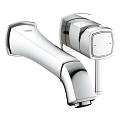 Grandera Two-Hole Wall Mount Bathroom Faucet M-Size 19931 000
