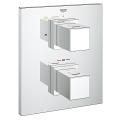 Grohtherm Cube Thermostat with integrated 2-way diverter for bath or shower with more than one outlet 19958 000