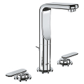 "Veris Three-hole basin mixer 1/2"" M-Size 20182 000"