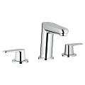 "Eurodisc Cosmopolitan Three-hole basin mixer 1/2"" S-Size 20215 002"