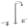 Essence 3-hole basin mixer with high spout L-Size 20299 001
