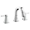 "Grandera Three-hole basin mixer 1/2"" S-Size 20418 000"