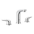 "Eurostyle 8"" Widespread Two-Handle Bathroom Faucet S-Size 20486 003"
