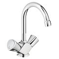 "Costa S One-hole basin mixer, 1/2"" 21257 001"