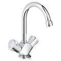 "Costa L One-hole basin mixer, 1/2"" 21374 001"