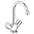 "Costa S One-hole basin mixer, 1/2"" 21338 001"