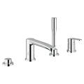 Eurostyle Cosmopolitan 4-hole single-lever bath combination 23048 002