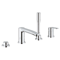 Eurostyle Cosmopolitan 4-hole single-lever bath combination 23048 003