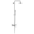 Eurodisc Cosmopolitan System 180 Shower system with single lever mixer for wall mounting 23058 002