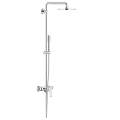 Euphoria XXL Eurodisc Cosmopolitan System 210 Shower system with single lever mixer for wall mounting 23058 003