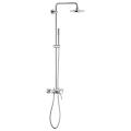 Euphoria Concetto System 180 Shower system with single lever mixer for wall mounting 23061 001