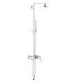 Eurocube System 150 Shower system with single lever mixer for wall mounting 23147 000