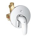 "Eurostyle Single-lever bath mixer 1/2"" 23730 003"