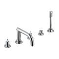 Atrio Five-Hole Bathtub Faucet with Handshower 25049 001