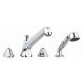 Somerset Four-Hole Roman Bathtub Faucet with Handshower 25077 000
