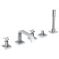 Allure Five-Hole Bathtub Faucet with Handshower 25083 001