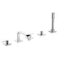 Allure Five-Hole Bathtub Faucet with Handshower 25097 001