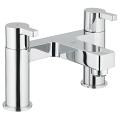 "Lineare Two-handle bath filler 1/2"" 25104 000"