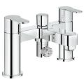 "Eurostyle Cosmopolitan Two-handled Bath/Shower mixer ½"" 25107 002"