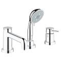 GROHE BauClassic 3-hole bath/shower combination 25118 000