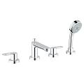 BauLoop 4-hole bath/shower combination 25119 000