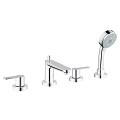 BauEdge 4-hole bath/shower combination 25120 000