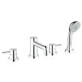 GROHE BauClassic 4-hole bath/shower combination 25121 000