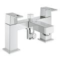 "Eurocube Two-handled bath/shower mixer ½"" 25137 000"