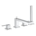 BauMetric Four-hole single-lever bath combination 25139 000